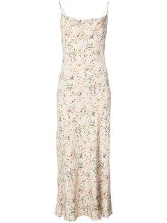 платье с цветочным принтом R13