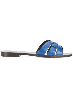 сандалии Nu Pieds Saint Laurent