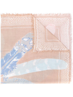 шарф с перьями Hemisphere
