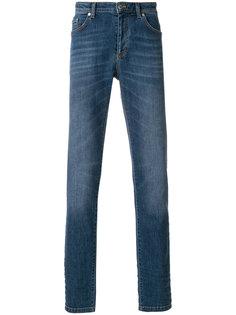 джинсы прямого кроя Versace Collection