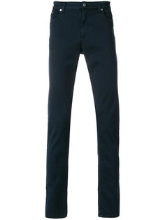брюки прямого кроя Versace Collection