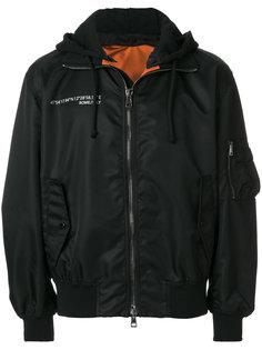 куртка-бомбер с капюшоном Always Valentino