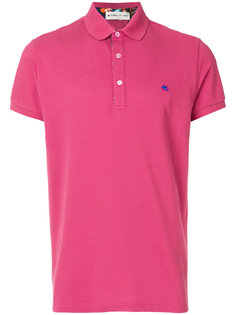 футболка-поло с планкой на пуговицах Etro