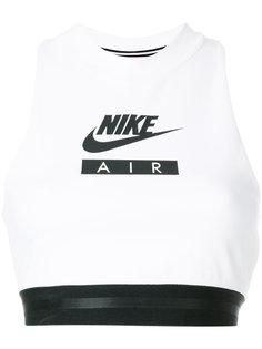 спортивный топ с принтом логотипа Nike