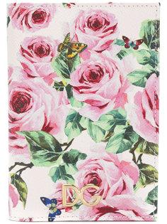 кошелек с розами Dolce & Gabbana