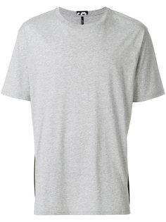 футболка с контрастной панелью Versus