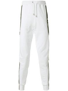 спортивные брюки с заниженным шаговым швом  Versus