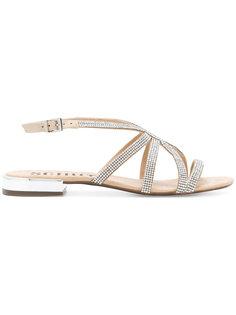 декорирвоанные сандалии Schutz