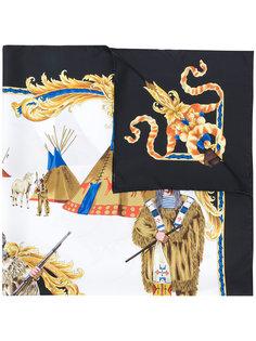 платок с принтом Versace