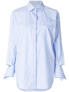 оверсайз-рубашка в полоску  Valentino