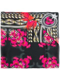 шелковый шарф с цветочным принтом Givenchy