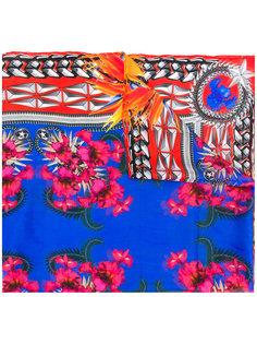 шарф с комбинированным принтом Givenchy