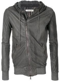 байкерская куртка на молнии Giorgio Brato