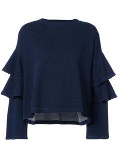 ruffled sleeve sweatshirt Ag Jeans