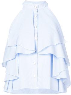 расклешенная блузка Caroline Constas