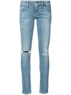 джинсы скинни с рваными деталями Citizens Of Humanity