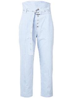 брюки в тонкую полоску Marissa Webb