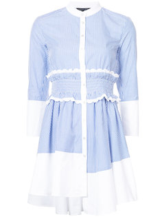 платье-рубашка в тонкую полоску Marissa Webb