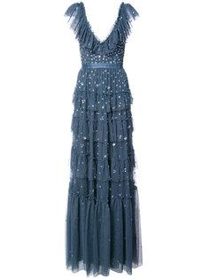 многоярусное вечернее платье Needle & Thread