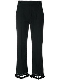 брюки с помпонами Marc Jacobs