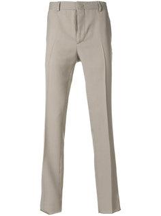 классические брюки с узором в ломаную клетку Fendi