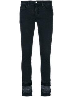 декорированные джинсы скинни  Victoria Victoria Beckham