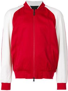 куртка с вышивкой Versace