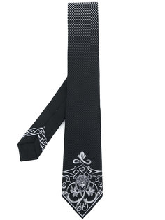 галстук с принтом Medusa Versace