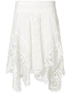 кружевная юбка  Chloé