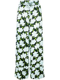 брюки с принтом Fantasia Off-White