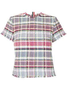 твидовая футболка Thom Browne