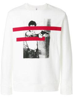 graphic print sweatshirt Neil Barrett