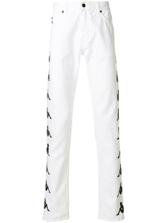 брюки прямого кроя Paura x Kappa Ali Paura