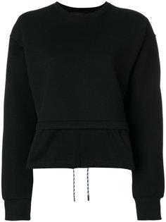 свитер с многослойным эффектом Diesel Black Gold