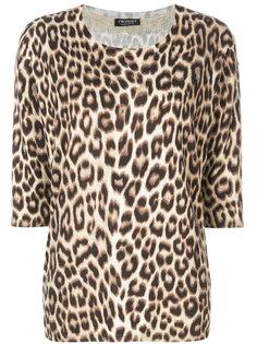 леопардовая блузка Twin-Set