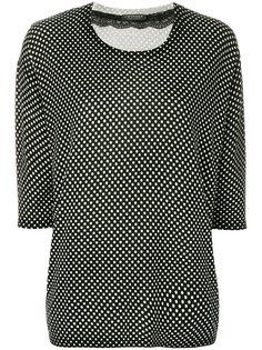 блузка в горошек Twin-Set