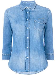 джинсовая рубашка с рукавами три-четверти Jacob Cohen