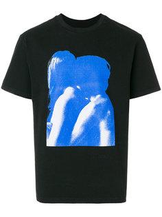 футболка с принтом Misbhv
