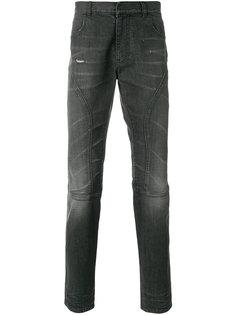 байкерские джинсы слим  Faith Connexion