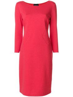 классическое приталенное платье  Giorgio Armani