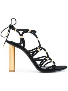 босоножки high flower heel Salvatore Ferragamo