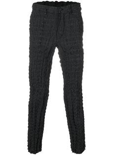 брюки с мятым эффектом Issey Miyake Men