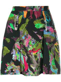 мини-юбка с абстрактным узором Versus