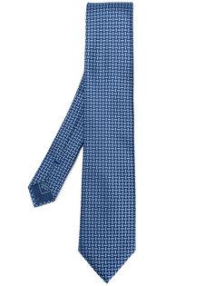 жаккардовый галстук Brioni