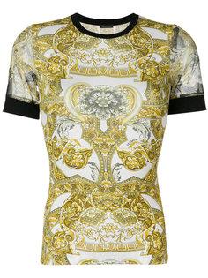 футболка с орнаментом Versace
