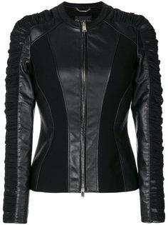 куртка с оборкой  Versace
