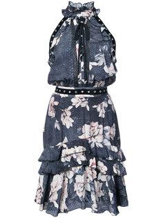 платье с цветочным принтом Just Cavalli