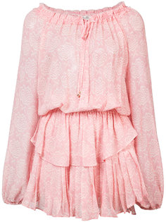 платье с цветочным принтом Love Shack Fancy