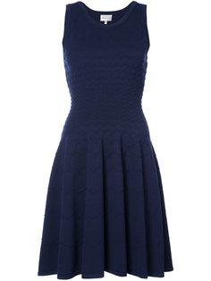 платье с зигзагообразной текстурой Milly