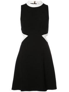 платье с декоративным вырезом на талии Rachel Zoe